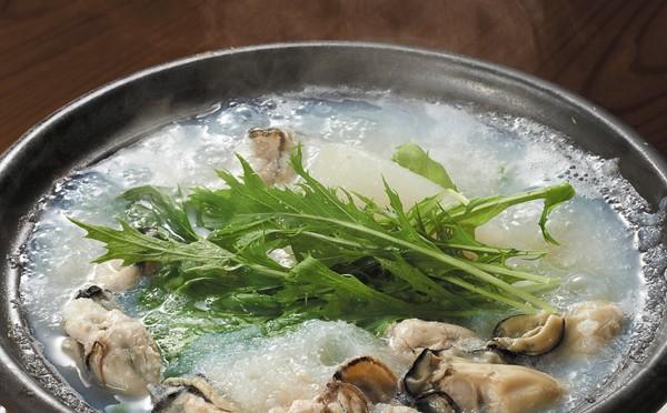 牡蠣と大根のみぞれ鍋