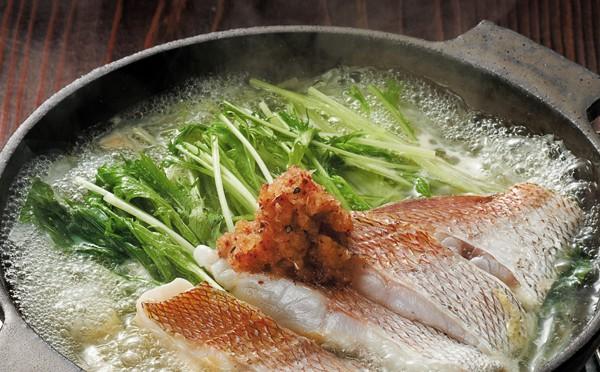 鯛のはりはり鍋