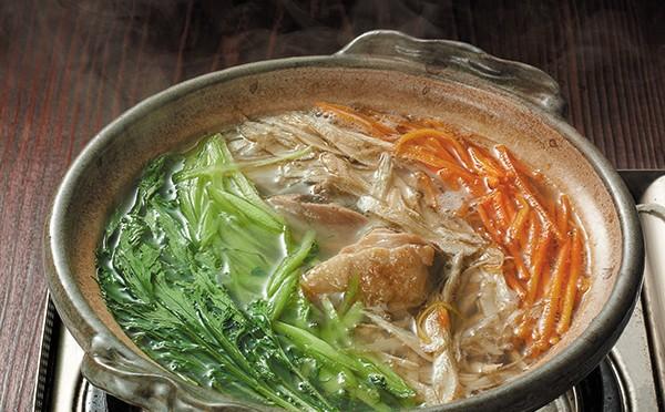 鶏の沢煮鍋