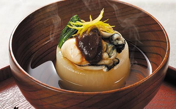 牡蠣のふろふき
