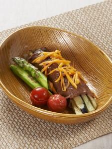 茄子の牛肉ロール